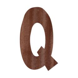 Holz-Furnier Buchstaben - Anatawa - Schriftzug aus dunklem 0,6mm Echtholzfurnier - Größenauswahl – Bild 18