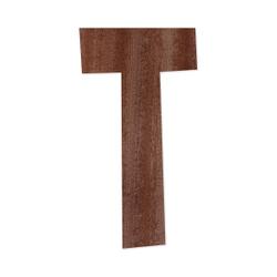 Holz-Furnier Buchstaben - Anatawa - Schriftzug aus dunklem 0,6mm Echtholzfurnier - Größenauswahl – Bild 21