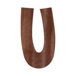 Holz-Furnier Buchstaben - Anatawa - Schriftzug aus dunklem 0,6mm Echtholzfurnier - Größenauswahl – Bild 22