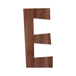 Holz-Furnier Buchstaben - Anatawa - Schriftzug aus dunklem 0,6mm Echtholzfurnier - Größenauswahl – Bild 6