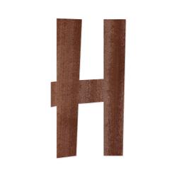 Holz-Furnier Buchstaben - Anatawa - Schriftzug aus dunklem 0,6mm Echtholzfurnier - Größenauswahl – Bild 9