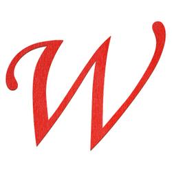 Sperrholz Buchstaben Rot - MT5-20 - Wunschtext/Schriftzug mit Größenauswahl – Bild 24