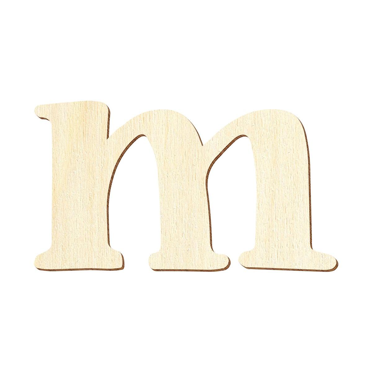 Sperrholz Buchstaben - Magnolia - Wunschtext/Schriftzug mit Auswahl - Pappel 3mm