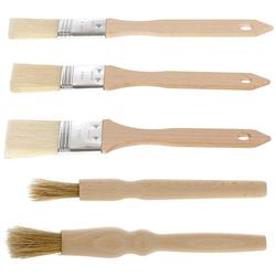 Bütic Holz Backpinsel - rund - flach – Bild 6