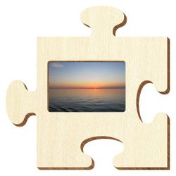 Bütic Sperrholz Foto Puzzle Bilderrahmen naturbelassen – Bild 11