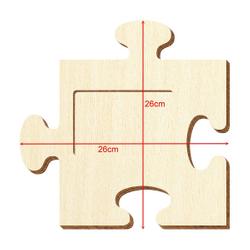 Bütic Sperrholz Foto Puzzle Bilderrahmen naturbelassen – Bild 13