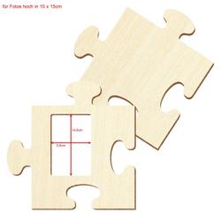 Bütic Sperrholz Foto Puzzle Bilderrahmen naturbelassen – Bild 17