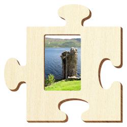 Bütic Sperrholz Foto Puzzle Bilderrahmen naturbelassen – Bild 16