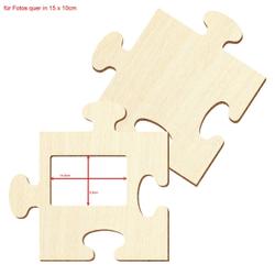 Bütic Sperrholz Foto Puzzle Bilderrahmen naturbelassen – Bild 22