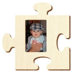 Bütic Sperrholz Foto Puzzle Bilderrahmen naturbelassen – Bild 1