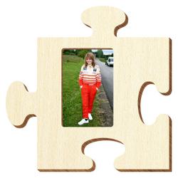 Bütic Sperrholz Foto Puzzle Bilderrahmen naturbelassen – Bild 6