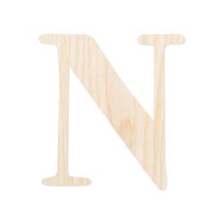 Holz-Furnier Buchstaben - Magnolia - Schriftzug aus hellem 0,6mm Echtholzfurnier - Größenauswahl – Bild 16