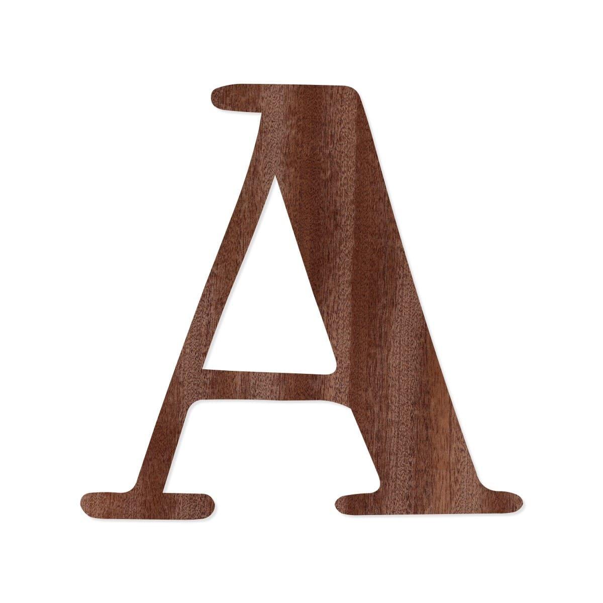 holz furnier buchstaben magnolia schriftzug aus dunklem 0 6mm echtholzfurnier gr enauswahl. Black Bedroom Furniture Sets. Home Design Ideas