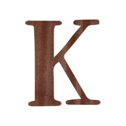Holz-Furnier Buchstaben - Magnolia - Schriftzug aus dunklem 0,6mm Echtholzfurnier - Größenauswahl – Bild 14