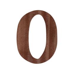 Holz-Furnier Buchstaben - Magnolia - Schriftzug aus dunklem 0,6mm Echtholzfurnier - Größenauswahl – Bild 18