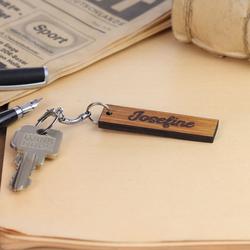 Echtholz Liebes-Anhänger individuell graviert Schlüsselanhänger – Bild 13