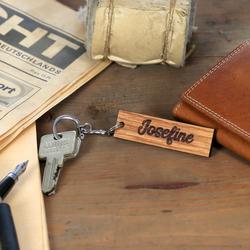 Echtholz Liebes-Anhänger individuell graviert Schlüsselanhänger – Bild 11