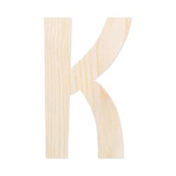 Holz-Furnier Buchstaben - Anatawa - Schriftzug aus hellem 0,6mm Echtholzfurnier - Größenauswahl – Bild 12