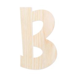 Holz-Furnier Buchstaben - Anatawa - Schriftzug aus hellem 0,6mm Echtholzfurnier - Größenauswahl – Bild 3