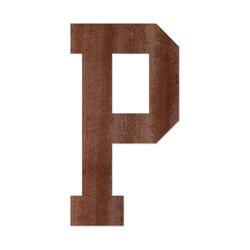 Holz-Furnier Buchstaben - College Block - Schriftzug aus dunklem 0,6mm Echtholzfurnier - Größenauswahl – Bild 17