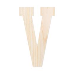 Holz-Furnier Buchstaben - College Block - Schriftzug aus hellem 0,6mm Echtholzfurnier - Größenauswahl – Bild 23