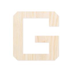 Holz-Furnier Buchstaben/Zahlen - Knox - Schriftzug aus hellem 0,6mm Echtholzfurnier - Größenauswahl – Bild 8