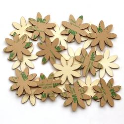 selbstklebende Holz Blumen Margeriten - 1-10cm Streudeko Basteln Deko Tischdeko – Bild 1