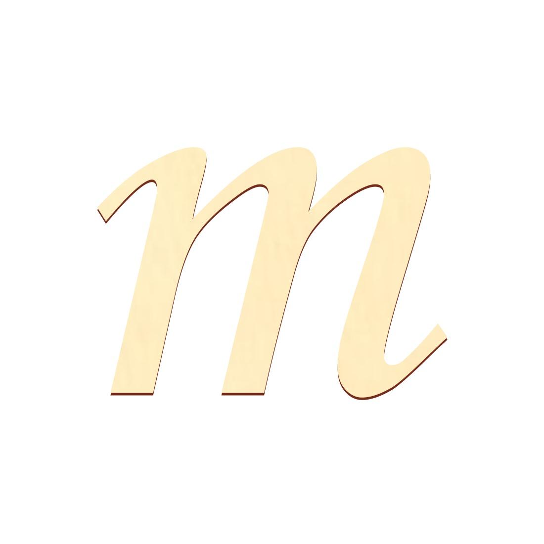 selbstklebende Holz Buchstaben - MT - Wunschtext/Schriftzug mit Größenauswahl