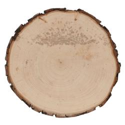 B-Ware Holzbrett Rindenbrett Esche rund - Rindenscheibe Baumscheibe geschliffen  – Bild 1