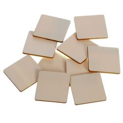 Holz Quadrate Holzscheiben - 1-60cm Streudeko Basteln Deko Tischdeko – Bild 1