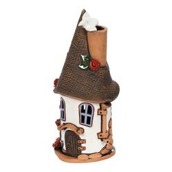 Bütic Keramik Windlicht - Hexenhäuschen – Bild 1