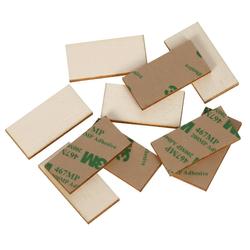 selbstklebende Holz Rechtecke Holzscheiben - 2x1cm - 60x30cm Basteln Deko Tischdeko – Bild 1