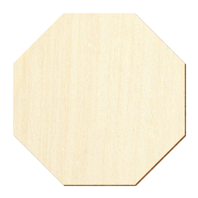 Holz Achteck Oktagon Holzscheiben 1 60cm Streudeko Basteln Deko Tischdeko Bütic Gmbh