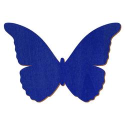 Blauer Holz Schmetterling - 3-50cm Flügelspannweite Streudeko Basteln Deko Tischdeko – Bild 1