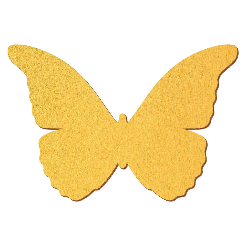 Deko Zuschnitte Größenauswahl Pinker Holz Schmetterling