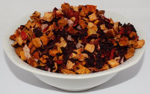 Himbeer-Tropics Früchtetee aromatisiert