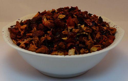 Advent Früchtetee mit der besonderen Mandel Note aromatisiert