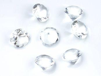 Dekosteine Diamanten 2cm – Bild 2