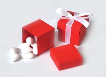 10 Stk. Gastgeschenk BOX 5x5x5 cm uni – Bild 9
