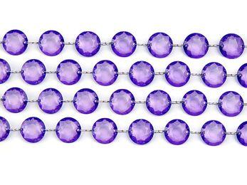 1m Kristall Girlande – Bild 21