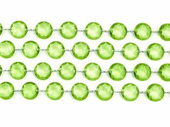 1m Kristall Girlande – Bild 11