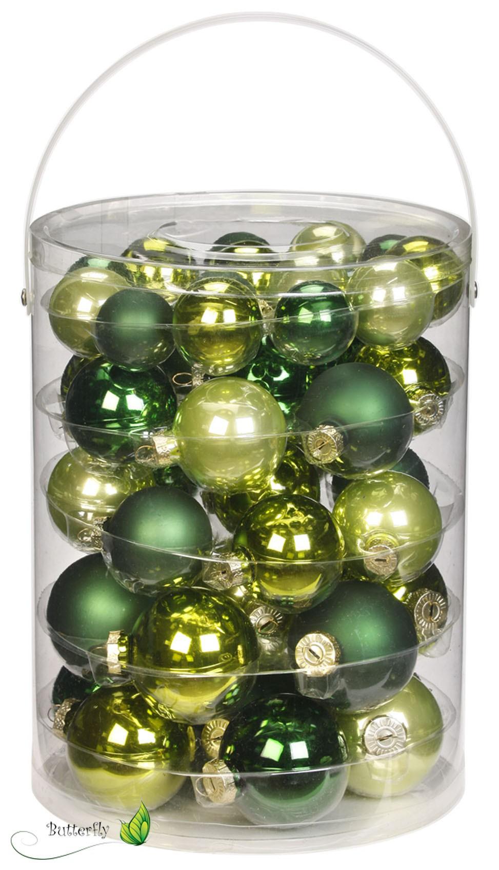 Christbaumkugeln glas 4 5 6 7cm 60 stk dose for Christbaumkugeln grau