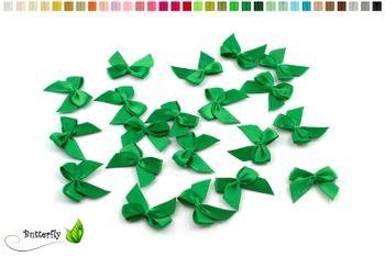 20 Stück Satinschleifen 2,5x3cm (einfarbig) – Bild 21