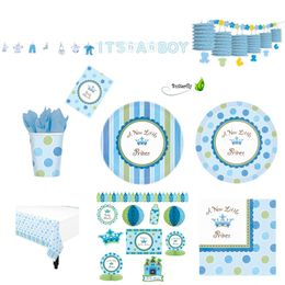 Baby Shower Party-Set Junge – Bild 1