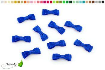 10 Stück Satinschleifen 3,5x1,3cm (einfarbig) – Bild 16
