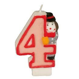 Zahlenkerze 8 cm Kinder-Geburtstag – Bild 6