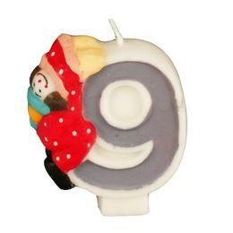 Zahlenkerze 8 cm Kinder-Geburtstag – Bild 11