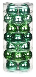 28 Christbaumkugeln GLAS 45mm  – Bild 24
