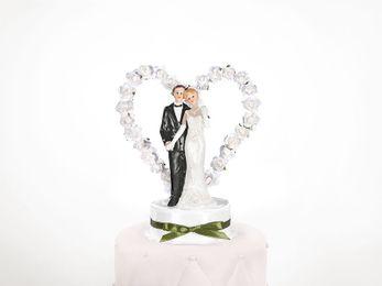 Tortenfigur Brautpaar Dose – Bild 4