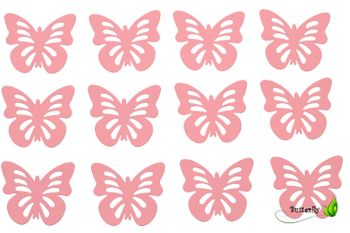 12 Schmetterlinge 3D Aufkleber – Bild 4